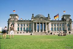 Reichstagsgebаude. Berlin. Germany