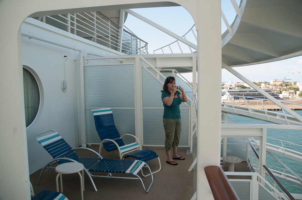 Balcony from family suite on Adventure of the Seas