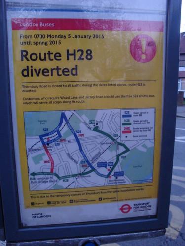 H28 Diversion Poster