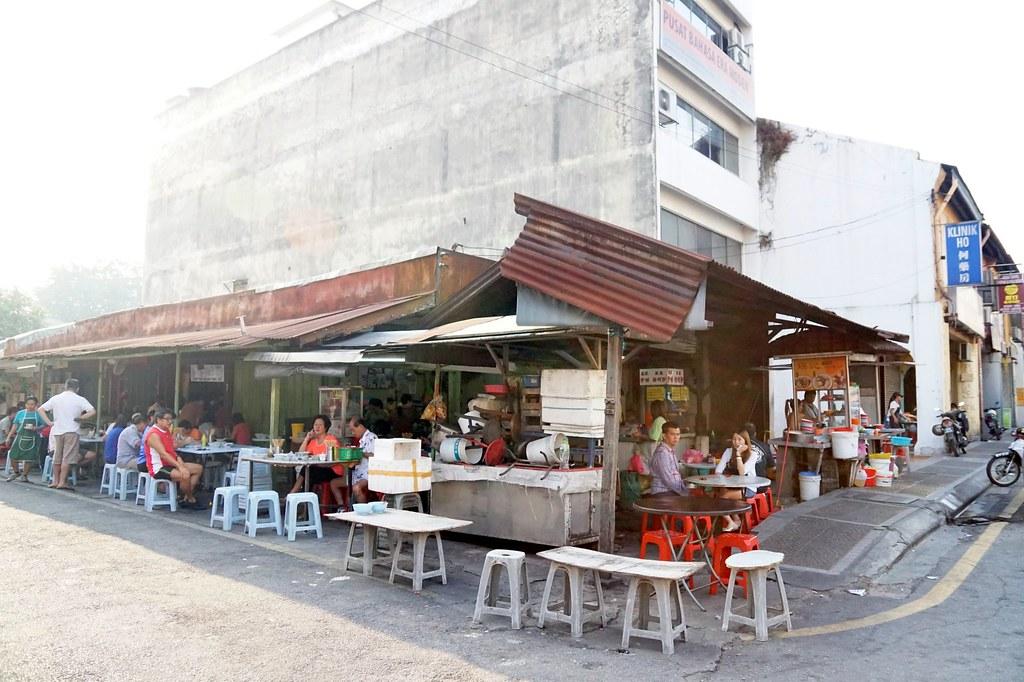 pudu wai sik kai - morning hakka mee noodles