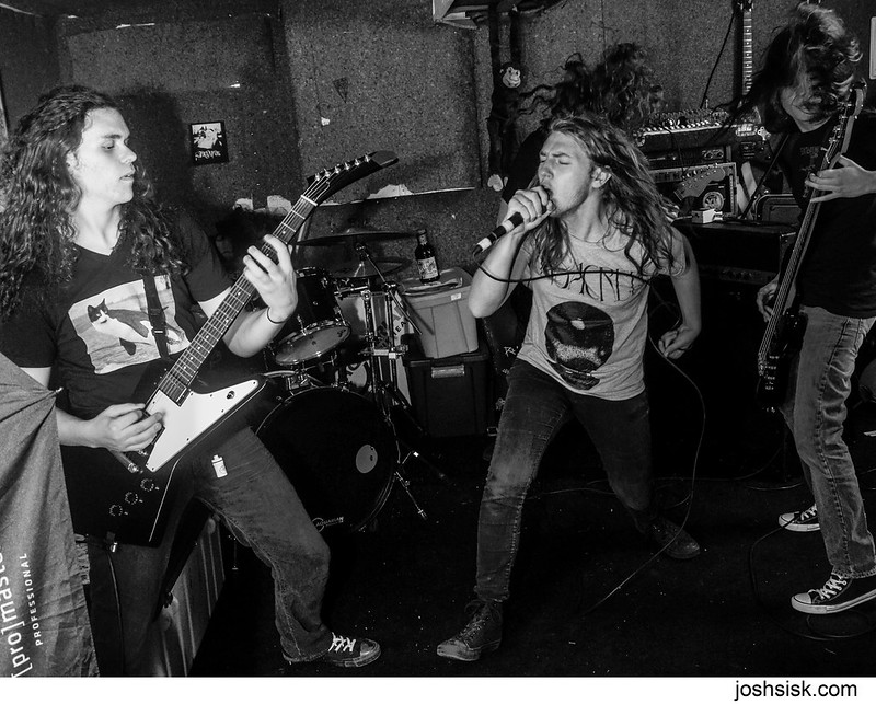 Noisem band practice 2013