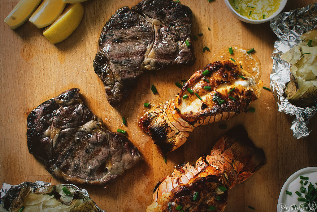 Broiled Butter Lobster for Surf and Turf | GirlCarnivore.com