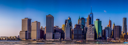 newyork skyscrapers unitedstates brooklynheights lowermanhattan 2015