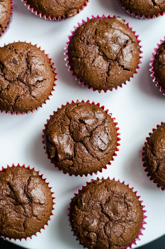Double Chocolate Muffins | cookingalamel.com