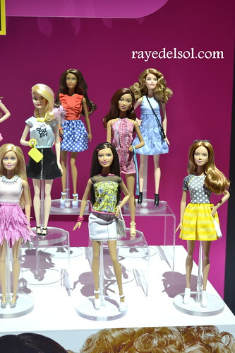 Barbie Fashionistas 2015 Dolls Barbie at Toy Fair