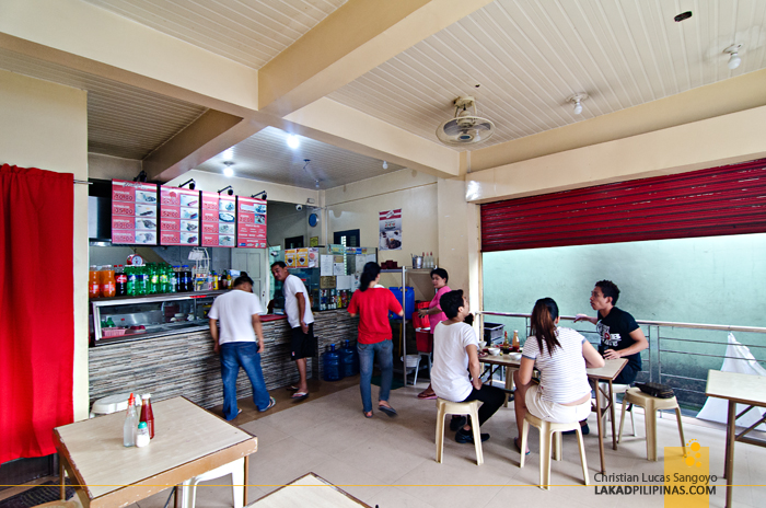 Inside the New Maty's Tapsilog in Don Galo