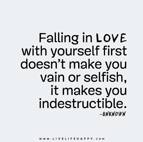 Making love to yourself
