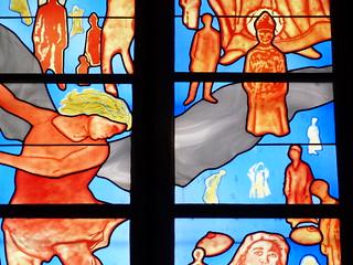 Vidriera de Belzere en Rodez