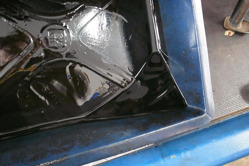 FTR223 クラッチ滑り修理