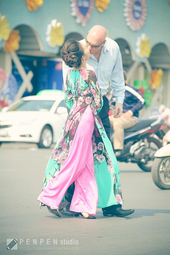 Chụp ảnh cưới theo phong cách phóng sự , đời thường
