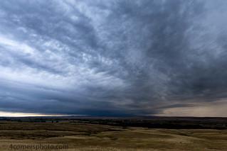 Thunderstorm, Garryowen, MT