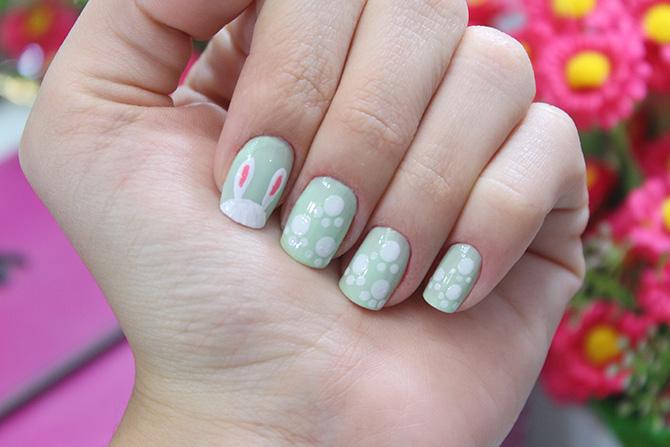 03-unhas decoradas para páscoa nail art Easter sempre glamour jana taffarel