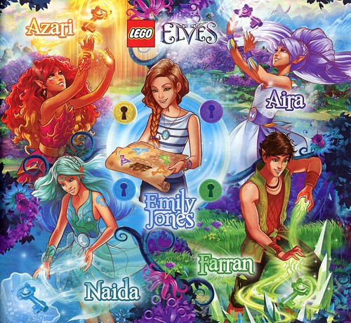 LEGO Elves 41074 Azari and the Magical Bakery ins04