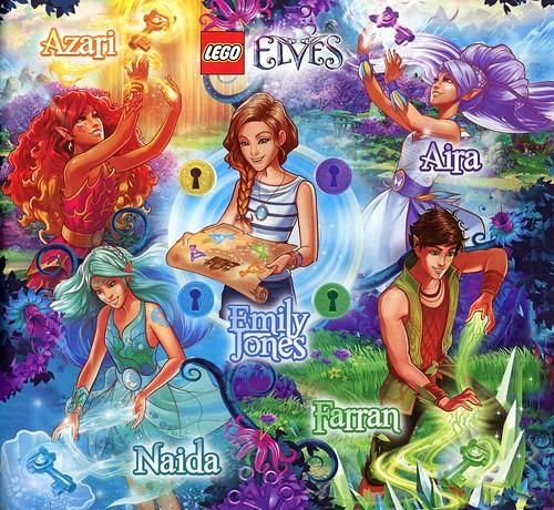 LEGO Elves 41074 Azari and the Magical Bakery ins04