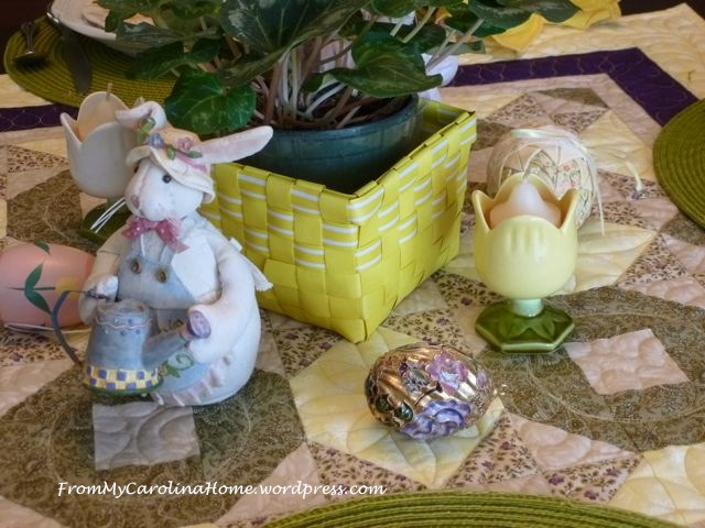 Easter tablescape - 7