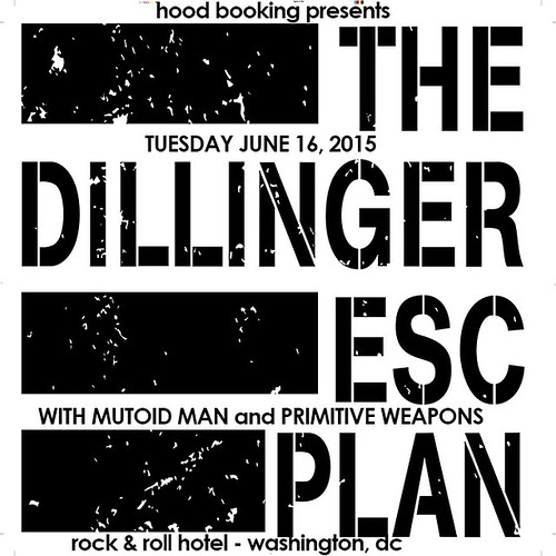 The Dillinger Escape Plan at the Rock & Roll Hotel