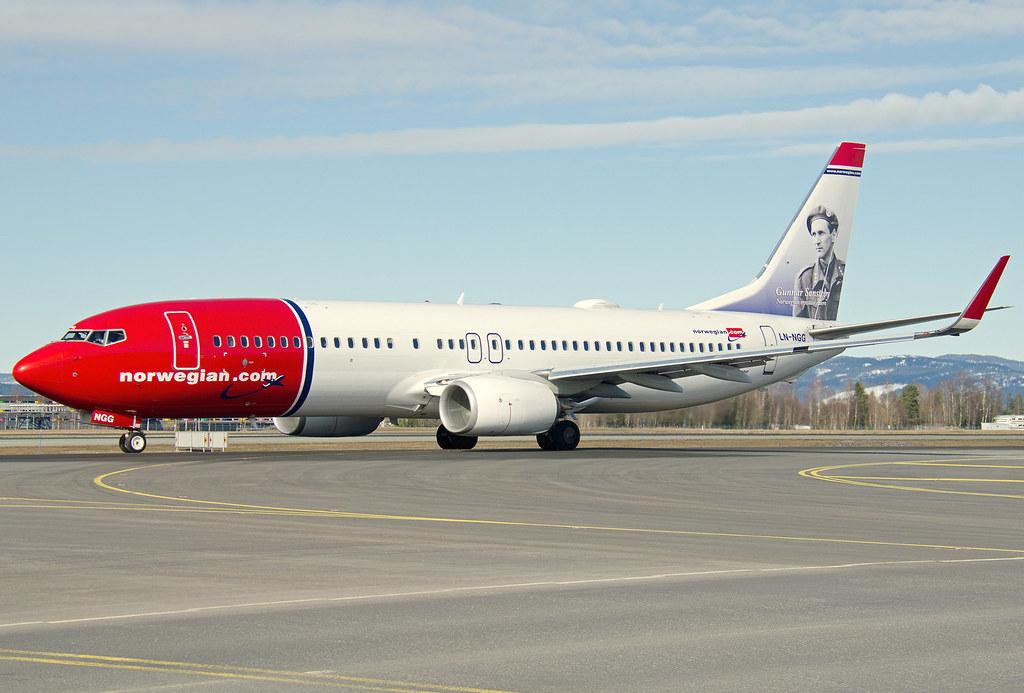 LN-NGG - B738 - Norwegian