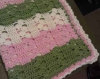 Light and Lacy Crochet Baby Blanket - Missed Stitches