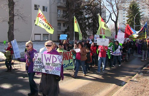 International Women's Day - Edmonton - 2015