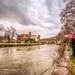 Tiber River, Romw by Nejdet Duzen