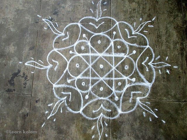 apartment kolam free hand kolam designs