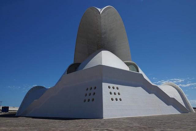 Auditorium in Santa Cruz de Tenerife, Tenerife, Spain, 10/2013