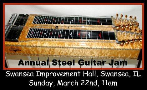 Annual Steel Guitar Jam 3-22-15