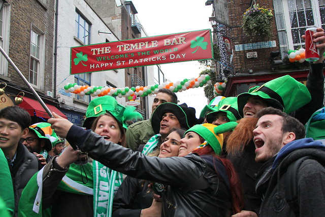 St. Patricks Day, Dublin 2015
