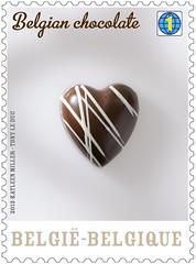 07 Le chocolat belge Timbre 3
