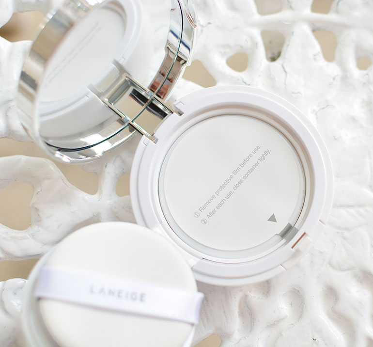 7 Laneige BB Cushion Pore Control Brown Beige Review Swatches - Gen-zel.com (c)