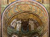 Mosaic apse in S. Vitale Ravenna.