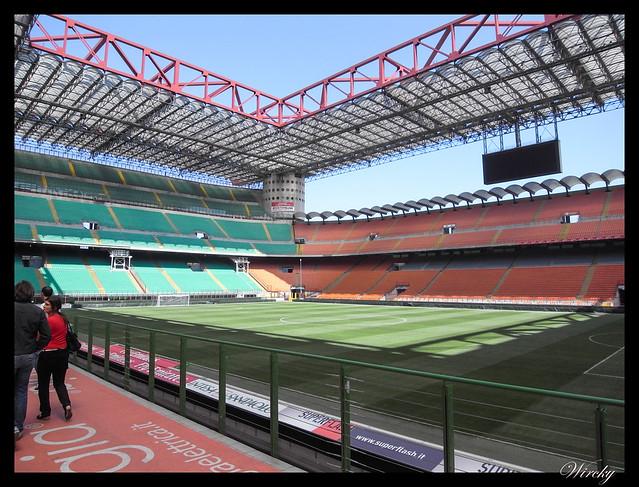 Estadio San Siro Giuseppe Meazza Milán - Campo del estadio San Siro