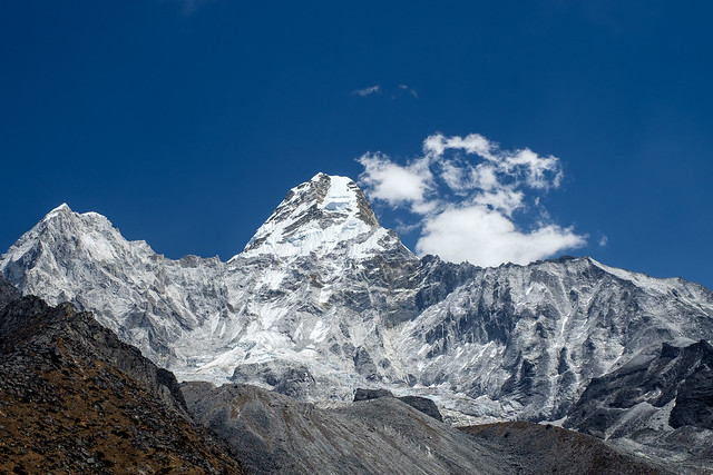 Ama Dablam from the Base Camp