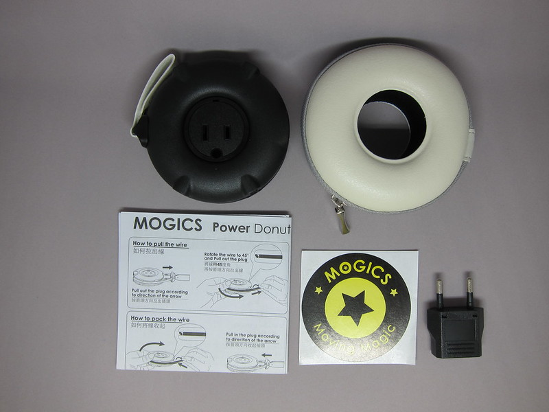 MOGICS Power Bagel - Box Contents