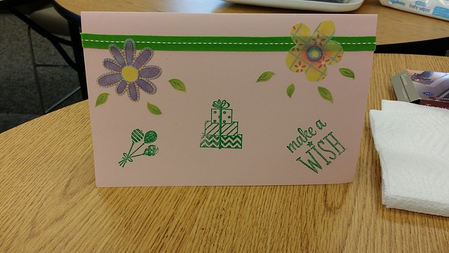 card 1 May class