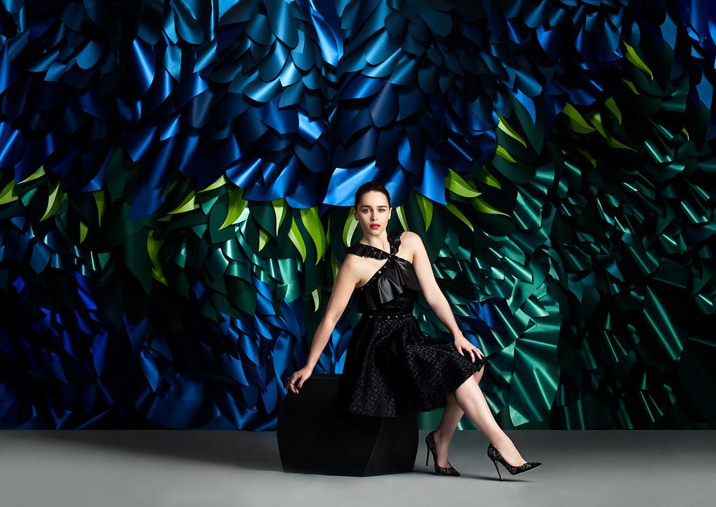 Эмилия Кларк — Фотосессия для «The Wrap» 2016 – 3