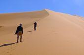Trekkingreise Oman mit Wüstencamp in Wahiba Sands. Foto: Günther Härter.