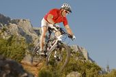 Bike-Alpencross Oberstdorf - Comer See. Foto: Centurion.