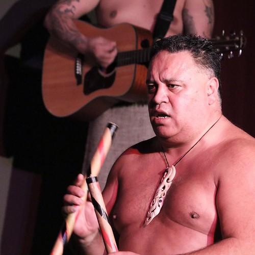時々この人、曙関に見えることがある。ハワイとマウイは、似てるのかもしれないね。アイヌも。 #airnzjp #link_nz #rotorua