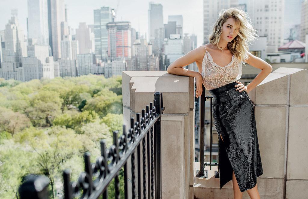 Роузи Хантингтон-Уайтли — Фотосессия для «Vogue» TH 2016 – 2