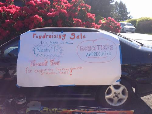 Fundraising sale