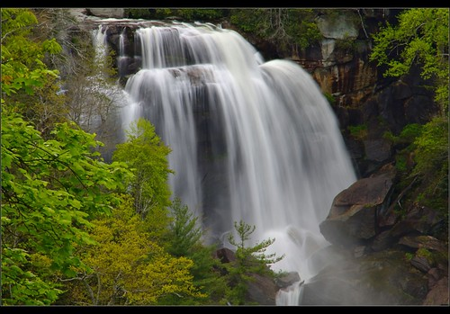 Upper White Water Falls