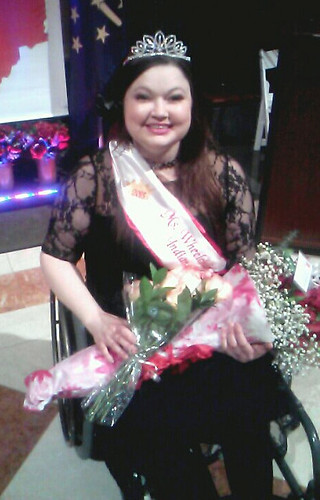 Brandy McCord Re-Entry Coordinator Crowned Ms. Wheelchair Indiana 2013