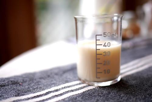 コーヒー用豆乳
