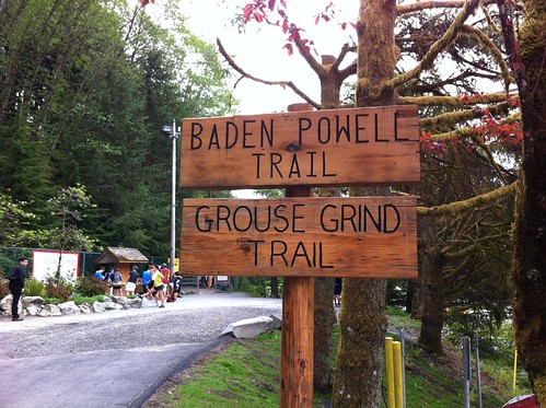 Start of the Grouse Grind (Vancouver, BC)