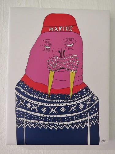 Anette Moi: Marius