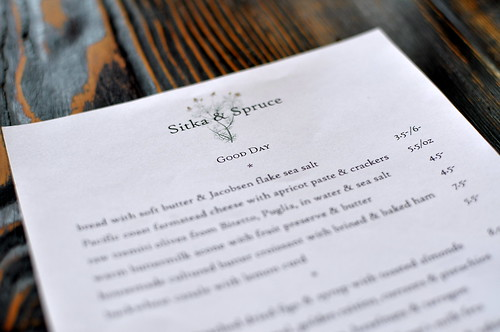 Sitka & Spruce - Capitol Hill - Seattle