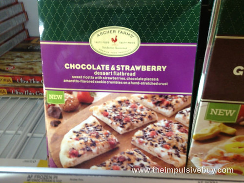 Archer Farms Chocolate & Strawberry Dessert Flatbread
