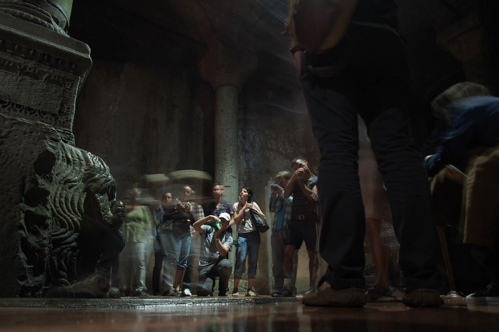 Istanbul - Medusa's Head, Cistern Basilica