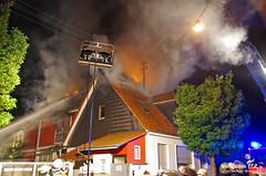 Gebäudebrand Schierstein 13.05.13